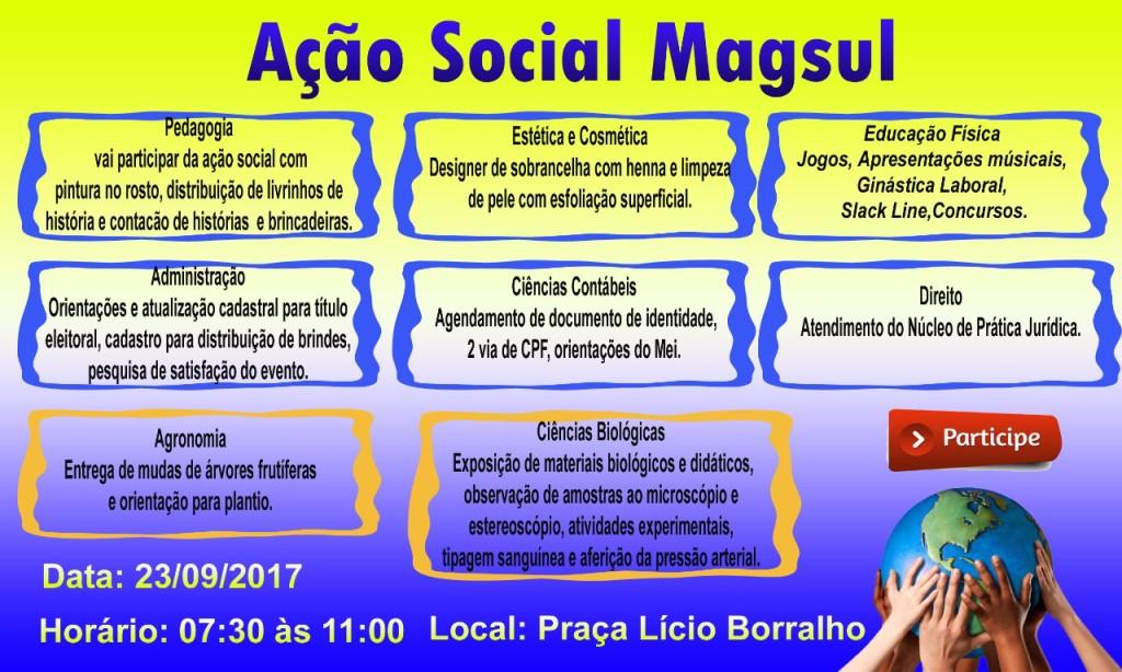 AÇÃO SOCIAL MAGSUL
