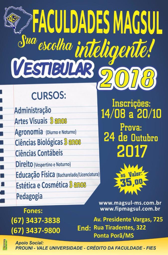 Vestibular 2018